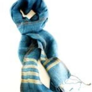 Hand-woven Naturally-dyed Scarf
